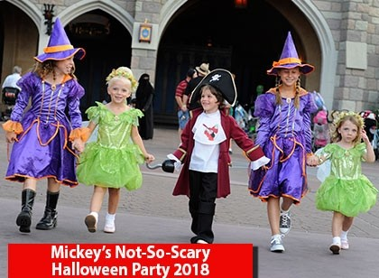 Mickey's Not-So-Scary Halloween Party 2018